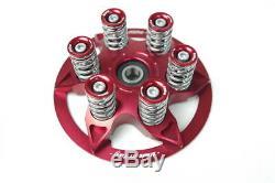 Ducati Kupplung Druckplatte Kupplungsdruckplatte Federn Federteller rot NEU