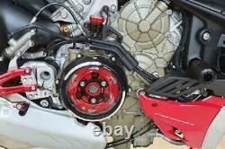 Ducati Streetfighter V4/S 2020-2021 CNC Racing Clear Clutch Cover Conversion Kit