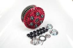 Ducati einstellbare Antihopping Kupplung 48 Zahn Kupplungskorb Beläge