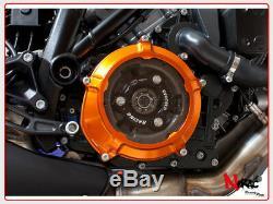 EVOTECH Protection Crankcase Clutch KTM Rc8 Superduke Adventure 1290 Orange/