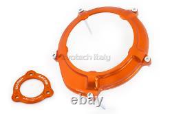 EVOTECH Set Cover Clutch+Pressure Plate Orange KTM 1290 Super Duke R