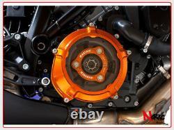 EVOTECH Set Kurbelgehäuse Recht Schutz Kupplung KTM LC8 1290 Superduke R / Gt