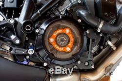 EVOTECH Transparent Clutch Cover KTM 1290 Sdr Superduke Lc8 1290 Sdr, Gt