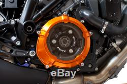 EVOTECH Transparent Clutch Cover Orange KTM 1290 Sdr LC8 1290 Sdr, Gt
