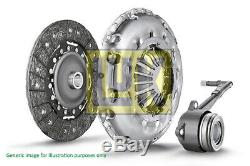 FORD FOCUS Mk1 1.8 Clutch Kit 3pc (Cover+Plate+CSC) 98 to 04 220mm LuK Quality
