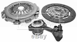 FORD FOCUS Mk2 1.6D Clutch Kit 3pc (Cover+Plate+CSC) 04 to 12 B&B Quality New