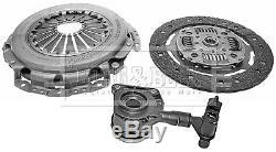 FORD FOCUS Mk2 1.8 Clutch Kit 3pc (Cover+Plate+CSC) 06 to 12 QQDB 220mm B&B New