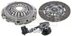 FORD FOCUS Mk3 1.6D Clutch Kit 3pc (Cover+Plate+CSC) 2010 on B&B 1772100 Quality