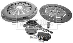 FORD MONDEO Mk3 2.0D Clutch Kit 3pc (Cover+Plate+CSC) 00 to 07 5 Speed MTM B&B
