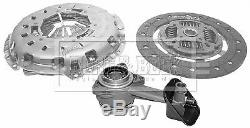 FORD TRANSIT 2.2D Clutch Kit 3pc (Cover+Plate+CSC) 06 to 11 250mm B&B Quality