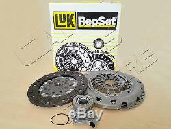 FOR VAUXHALL ASTRA H MK5 LUK 3 PC CLUTCH COVER KIT CSC 1.7 CDTi Z17DTH 6 SPEED