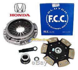 Fcc Honda Cover+fx Stage 3 Clutch Kit For 2000-2009 Honda S2000