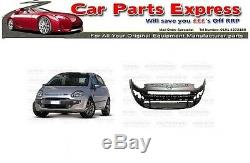Fiat Punto Evo 2010-2012 Front Bumper Painted Any Colour
