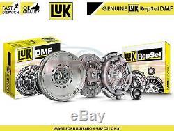For Bmw Genuine Luk Dual Mass Flywheel Clutch Cover Discs Bearing Kit Set N47