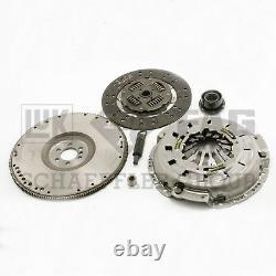 For Chevy Camaro Pontiac V8 26 Spline Clutch Kit Cover Disc Flywheel Pilots LUK