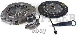 For Chevy Cruze 1.8L Sonic Clutch Kit 8.5 Cover Disc Slave Cylinder Pilots LUK