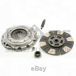 For Chevy GMC L6 V8 12 Clutch Kit Cover Cerametallic Disc Bearing Pilots LUK
