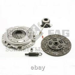 For Jeep Comanche Wrangler 4.2L Clutch Kit Cover Disc Slave Cylinder Pilots LUK