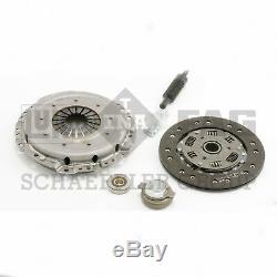 For Mercedes W201 190E L4 2.3L L6 Clutch Kit 8.5 Cover Disc Bearing Pilots LUK