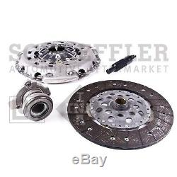 For Saab 9-3 6 Speed M/T Clutch Kit LuK Cover Disc Slave Cylinder Bearing