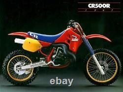 Honda CR500 Engine Clutch Cover Kit NOS OEM New 1985 1986 1987 1988 1989 1990