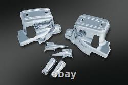 Kuryakyn 1739 Brake Clutch Control Handlebar Dress-Up Cover Kit Harley 14 Chrom
