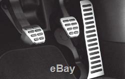 NEU Original VW Pedal-Kappen Handschalter Beetle Eos Golf Passat Jetta Scirocco