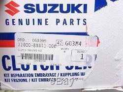 New Genuine Suzuki Jimny SN413 1.3 Complete 4pc Clutch Kit Bearings Cover Plate