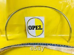 New + Original Opel Ascona B Wheel Scroll BAR Rear Left Moulding Chrome BAR