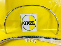 New + Original Opel Ascona B Wheel Scroll BAR Rear Right Moulding Chrome BAR