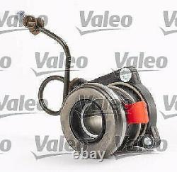 OPEL CORSA D 1.2 Clutch Kit 3pc (Cover+Plate+CSC) 06 to 14 201mm Valeo 1606237
