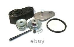 Open Box 40 Series Torque Converter Kit with Backplate, Pulleys, Belt & Cover