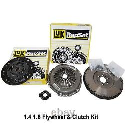 Peugeot 106 206 Flywheel Clutch Cover Plate Release Bearing Kit LuK 1.4 1.6 New