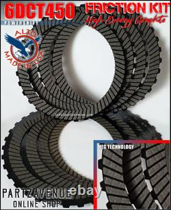 Powershift 6dct450 Getrag Gearbox Friction Plates Transmission Ford Volvo