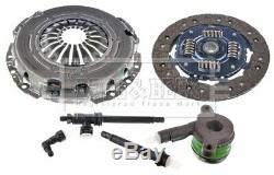 RENAULT TRAFIC Mk2 2.0D Clutch Kit 3pc (Cover+Plate+CSC) 2006 on B&B Quality New
