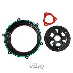 Racing Clear Clutch Cover Spring Retainer Kit For Ducati Panigale 959 1199 1299
