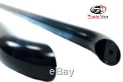Renault Trafic Side Bars Sportline Black Coated Oem Quality Swb 2001-2014