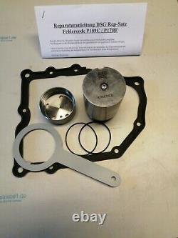 Reparatursatz DSG Getriebe 7 Gang, 0AM, DQ200, VW Audi Seat Skoda P17BF, P189C
