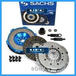 Sachs Cover-ufc Stage 2 Clutch Kit + Aluminum Flywheel 92-98 Bmw 325 328 E36 M52