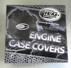Suzuki Gsxr 1000 2005 2006 K5 Kit Protezione Carter Motore R&g Crank Case