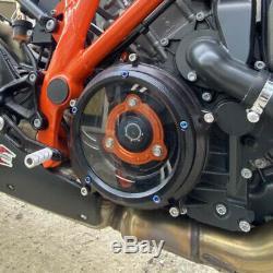 Transparent Engine Clear Clutch Cover Kit For KTM 1290 Super Duke R GT 2014-2020