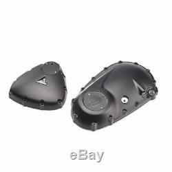 Triumph Bonneville Bobber Black Engine Covers Kit A9618184
