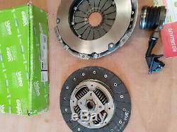 VALEO 834037 CLUTCH KIT FIAT DUCATO 2.3D Clutch Kit 3pc Cover+Plate+CSC GENUINE