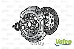 VALEO Clutch Kit 3P Cover Plate Bearing Fits AUDI A4 A6 VW Passat 1997-2005