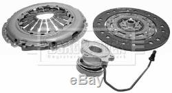 VAUXHALL ASTRA H 1.3D Clutch Kit 3pc (Cover+Plate+CSC) 2005 on Z13DTH Manual B&B