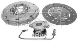 VAUXHALL ZAFIRA B 1.9D Clutch Kit 3pc (Cover+Plate+CSC) 05 to 14 741475RMP B&B