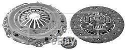 VW CADDY 1.6D Clutch Kit 3pc (Cover+Plate+Releaser) 10 to 15 B&B VOLKSWAGEN New