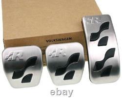VW Golf 4 R32 original R-Line Pedalset Pedale Pedalkappen pedal cover pads caps