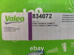 Valeo Clutch Kit 3pc (Cover+Plate+CSC) 235mm 834072 Ford Transit Connect 1.8