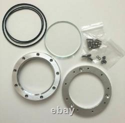 Yamaha RZ350 and Banshee Clutch Cover Window Silver (with Canada Shipping)